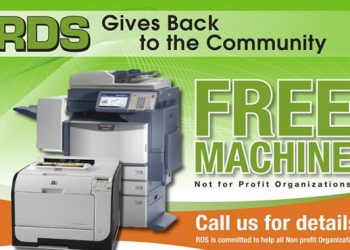 RDS is giving away, FREE MACHINES